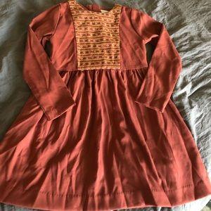 Edgehill collection long sleeve dress sz 5